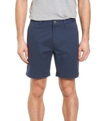 men's bonobos stretch washed chino 7-inch shorts, size 38 - blue