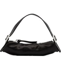 by far kubi satin tote - black