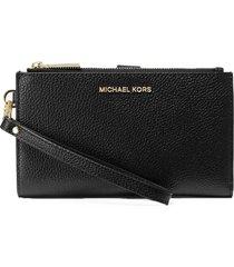michael kors adele black wallet