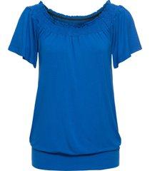 maglia con spalle scoperte (blu) - rainbow