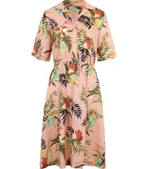 donna printed dress
