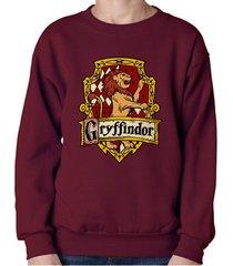 gryffindor #2 crest unisex crewneck sweatshirt / sweater maroon