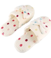 cute lovely home zapatillas zapatillas de algodón suela antideslizante pantuflas