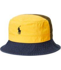 polo ralph lauren men's cotton chino bucket hat