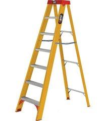 escada de fibra botafogo, tesoura, 6 degraus - efp9901
