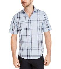 alfani men's dennis plaid shirt, created for macy's