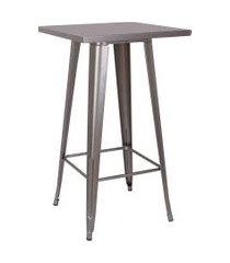 mesa iron bistrô cinza rivatti