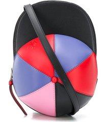 jw anderson cap crossbody bag - black