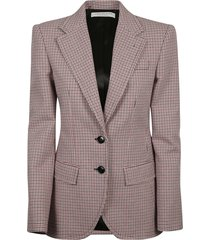 philosophy di lorenzo serafini all-over houndstooth blazer