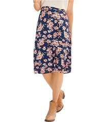 exterior falda azul leonisa f5718
