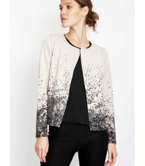 cardigan natural gold natalia braque