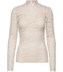 t-shirt ls t-shirts & tops long-sleeved roze rosemunde