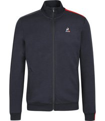 sweater le coq sportif sweatshirt full zip classique