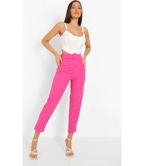 blazer en broek set, hot pink