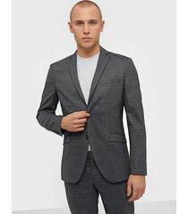 selected homme slhslim-mylostate grey struc blz b kavajer & kostymer grå