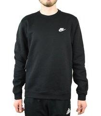 sweater nike nsw fleece club crew 804340-010
