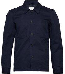 marseille linen jacket dun jack blauw les deux