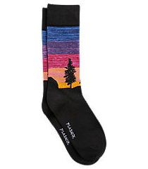 jos. a. bank forrest sunset mid-calf socks, one-pair