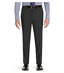 1905 collection tailored fit men's suit separate flat front pants with brrr°® comfort - big & tall by jos. a. bank