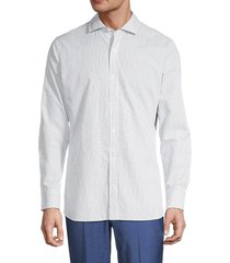 bonobos men's tailored slim-fit check shirt - white - size 17 36