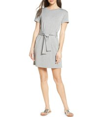 women's bb dakota tie front t-shirt dress