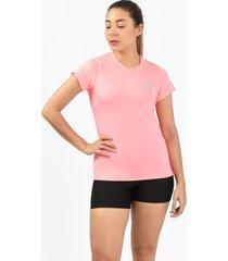 camiseta flex rosado para mujer