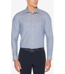 perry ellis men's slim-fit dobby shirt