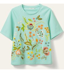 oilily tainan t-shirt- turquoise