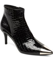 booties 23350 shoes boots ankle boots ankle boots with heel svart billi bi