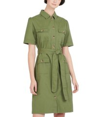barbour victoria cotton utility dress