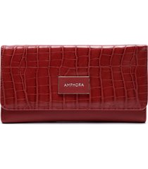 billetera nikola rojo amphora