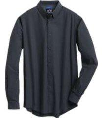 joe joseph abboud repreve® slate mini check slim fit sport shirt