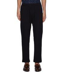 'bativoga marengo' elastic waist wide leg pants