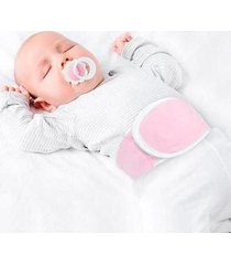 cinta térmica para cólica infantil buba baby com bolsa gel