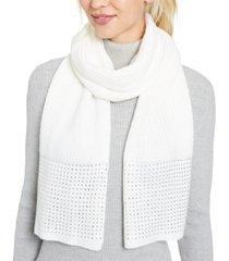 calvin klein studded scarf