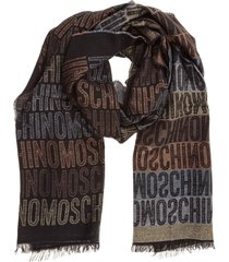 moschino teddy scarf