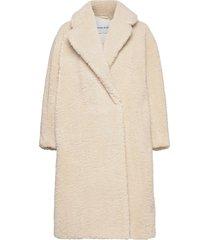 nicole coat outerwear faux fur roze stand studio