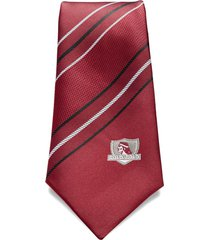 corbata colo-colo burdeo rayas sederías santiago