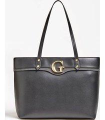 torba genevieve typu shopper z logo