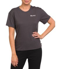 hurley cotton morro perfect gf graphic t-shirt