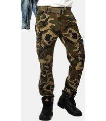 camo multi tasche uomo carico pantaloni outdoor tattico pantaloni militare pantaloni