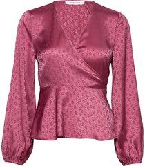 veneta blouse 11459 blouse lange mouwen roze samsøe & samsøe