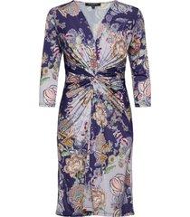 dress knälång klänning lila ilse jacobsen