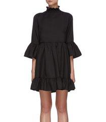 'aislyn' ruffled tier dress