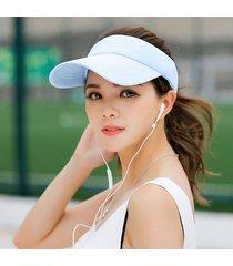 gorra para correr estudiante visera sombrero para el sol sombrero mujer