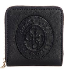billetera celestine slg small zip around negro guess