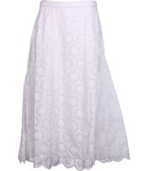 michael kors straight waist long skirt