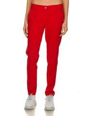 klassieke pantalon lian  rood