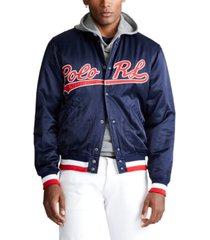polo ralph lauren men's polo rl baseball jacket