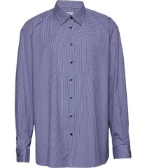 classic fit business casual brighton shirt overhemd business blauw eton